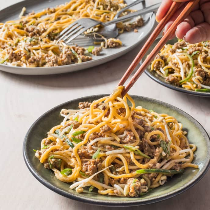 noodles in Beijing