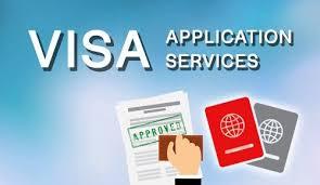 visa application.